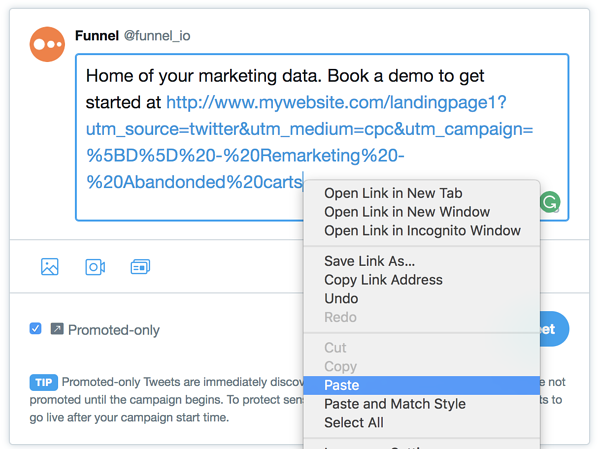 How to easily create structured advertising campaign names