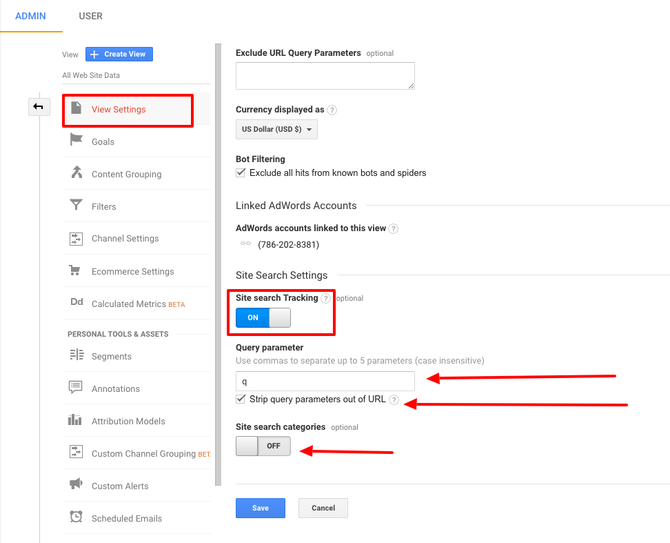 google analytics ecommerce tracking
